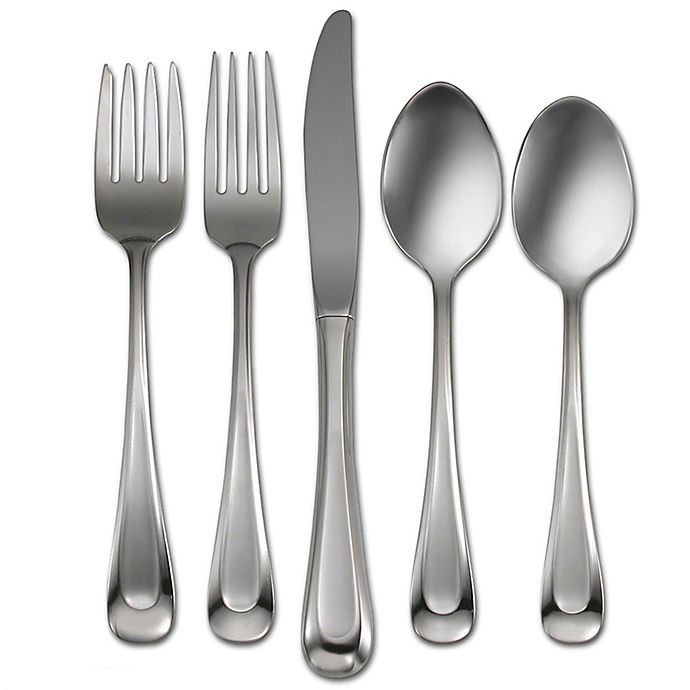 Alternate image 1 for Oneida® Satin Sand Dune 45-Piece Flatware Set