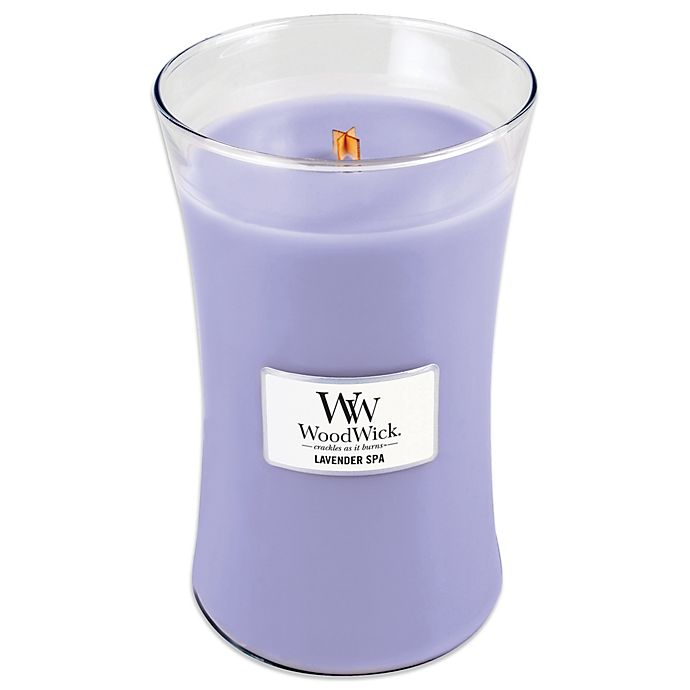 Alternate image 1 for WoodWick® Lavender Spa 22 oz. Jar Candle
