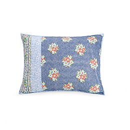 Jessica Simpson Talca Standard Pillow Sham in Blue
