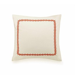Jessica Simpson Caicos European Pillow Sham in Coral