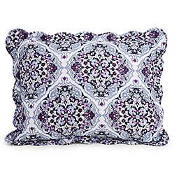 Vera Bradley® Regal Rosette Standard Pillow Sham in Purple