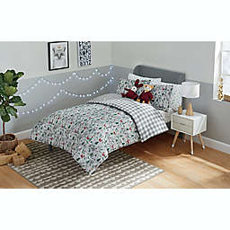 Marmalade™ Winter Forest 5-Piece Reversible Twin Comforter Set in Grey
