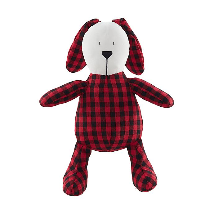 Alternate image 1 for Marmalade™ Joy Bunny Plush Figural Throw Pillow in Red