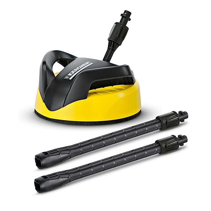 Alternate image 1 for Karcher® T250 Deck and Driveway Surface Cleaner in Yellow/Black