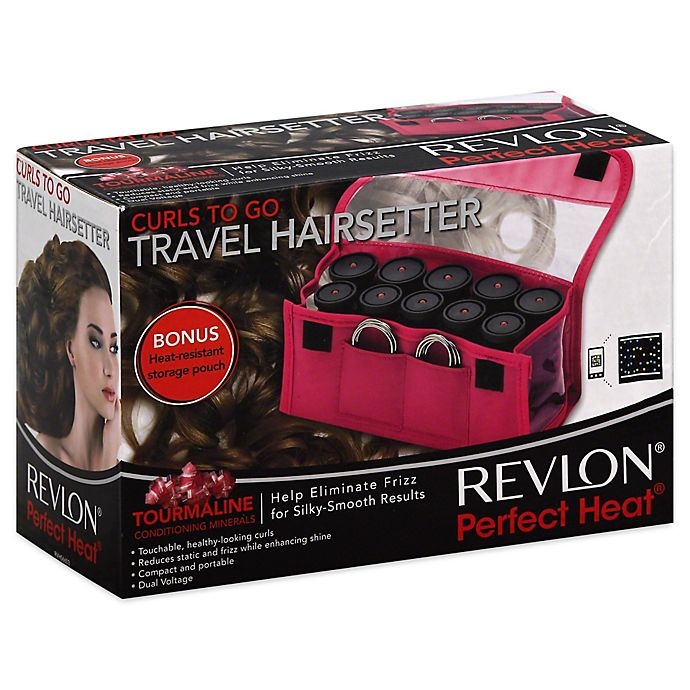 Alternate image 1 for Revlon® Perfect Heat Curls to Go Travel Hair Setter
