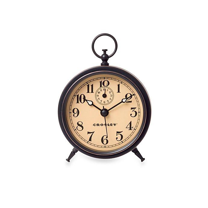 Vintage Metal Finial Alarm Clock
