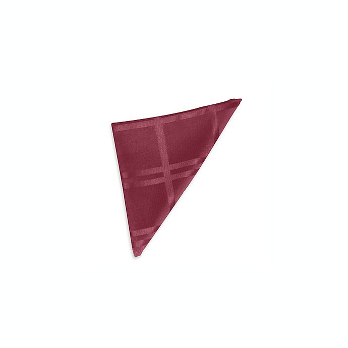 Alternate image 1 for Origins™ Microfiber Napkins in Ruby (Set of 2)