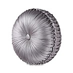 J. Queen New York™ Luxembourg Tufted Round Throw Pillow in Antique Silver