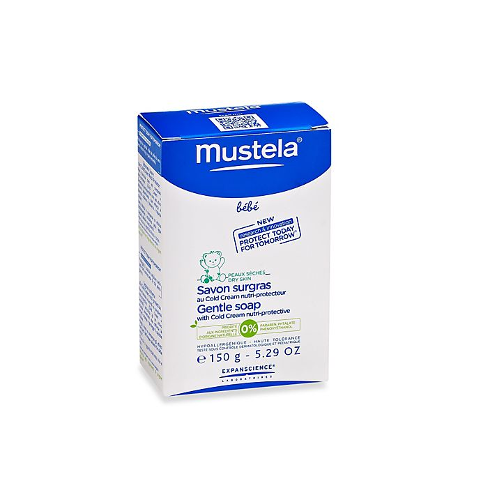 Alternate image 1 for Mustela® Bébé 150g/5.29 oz. Gentle Soap with Cold Cream Nutri-Protective