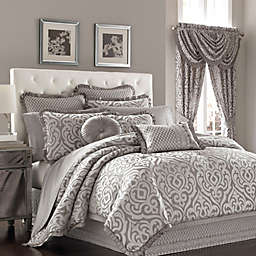 J. Queen New York™ Luxembourg Comforter Set in Antique Silver