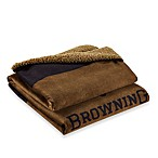 Browning Buckmark Fleece Throw