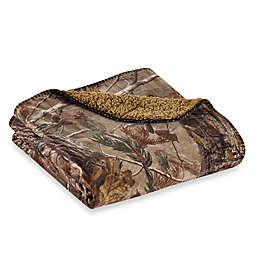 Realtree® Camo Fleece Throw