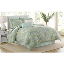 Soho New York Home Sea Glass 8-Piece Comforter Set