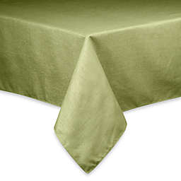 Basketweave 90-Inch Round Tablecloth in Sage