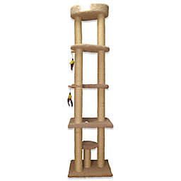 Family Cat Tower with Sky Lounger