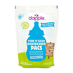 dapple® 25-Count Pure 'N' Clean Dishwasher Pacs in Fragrance-Free