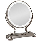 Zadro™ 1x/5x Magnifying Oversized Fluorescent Lighted Glamour Vanity Mirror