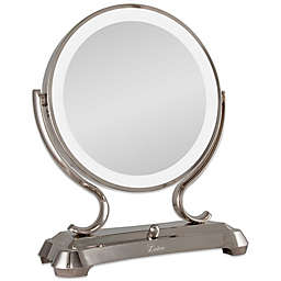 Zadro® 1x/5x Magnifying Oversized Fluorescent Lighted Glamour Vanity Mirror
