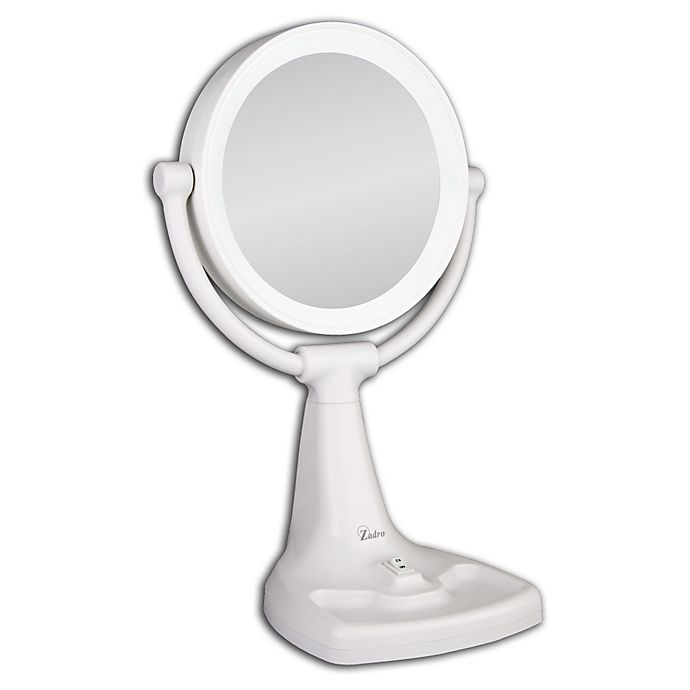 Zadro 174 1x 10x Max Bright Sunlight Vanity Mirror Bed Bath