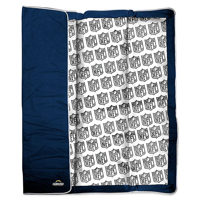 Nfl San Diego Chargers Indoor Outdoor Throw Blanket Bed