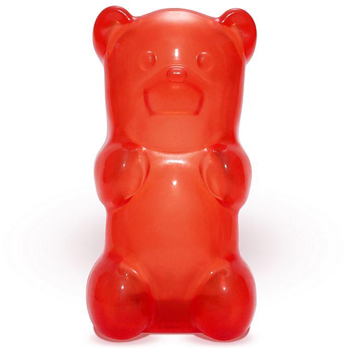 Alternate image 1 for GummyGoods Gummy Bear Nightlight in Red