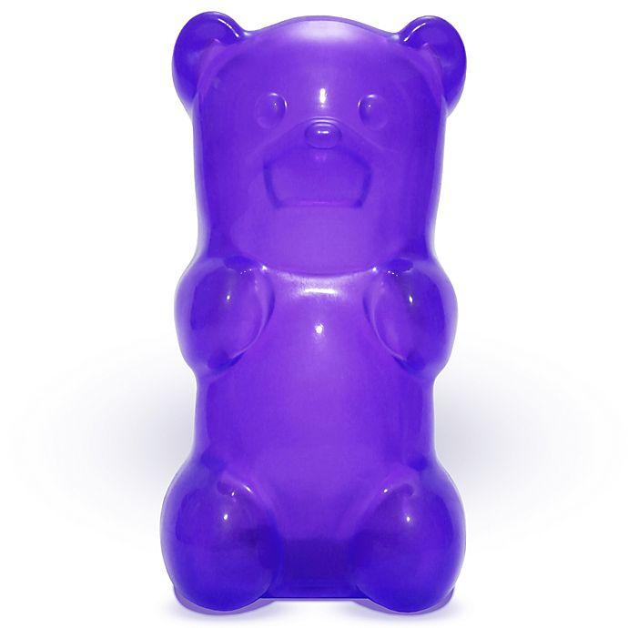 Alternate image 1 for GummyGoods Gummy Bear Nightlight in Purple