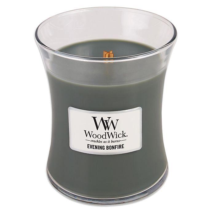 Alternate image 1 for Woodwick® Evening Bonfire 10 oz. Jar Candle