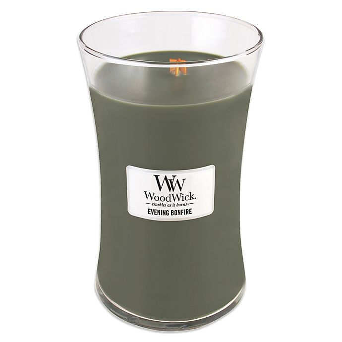 Alternate image 1 for Woodwick® Evening Bonfire 22 oz. Jar Candle