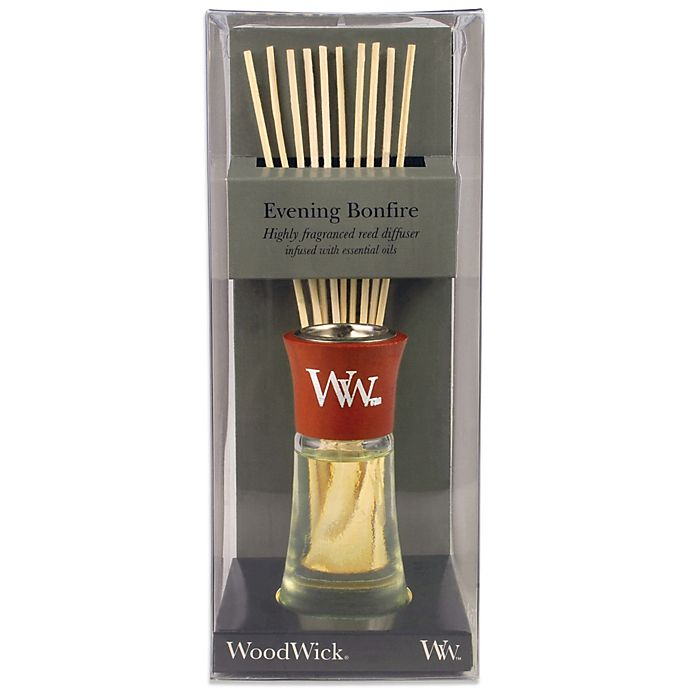 Alternate image 1 for Woodwick® Evening Bonfire Small Reed Diffuser