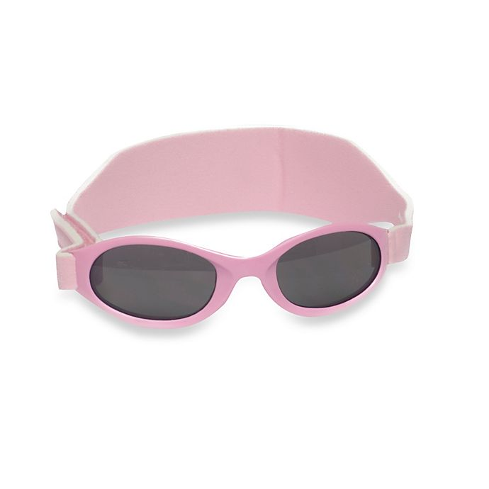 b3ab6692ab8a UVeez Classic Band Flex Fit Sunglasses in Pink