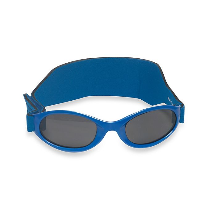 Alternate image 1 for UVeez Classic Band Flex Fit Sunglasses in Royal Blue