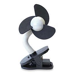 Dreambaby Clip-On Stroller Fan in Silver/Black