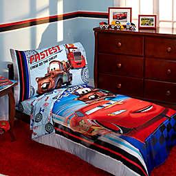 Disney® Cars Fastest Team 4-Piece Toddler Bedding Set