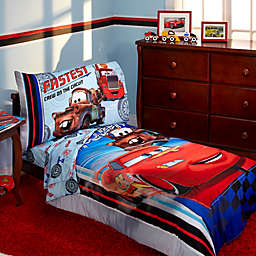Disney® Cars Fastest Team 4-Piece Toddler Bedding Set