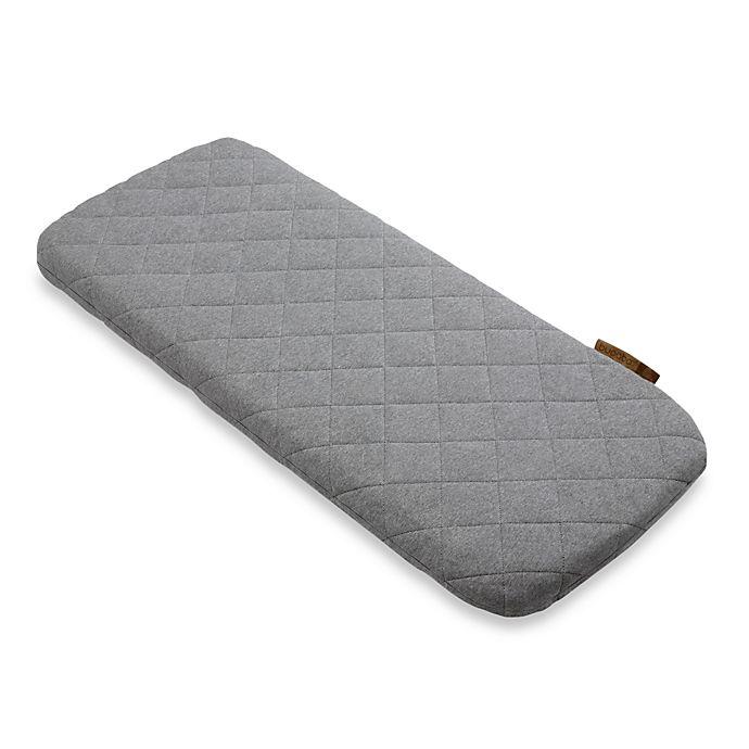 Alternate image 1 for Bugaboo Wool Mattress Cover in Grey Melange