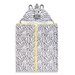 Just Born® Welcome to the Circus Hooded Bath Wrap in Neutral