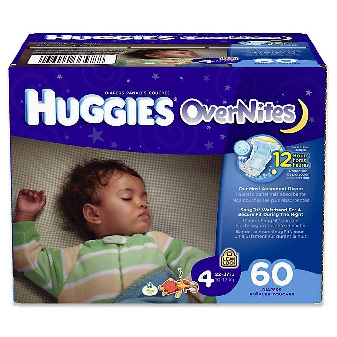 Huggies Overnites 60-Count Size 4 Diaper Big Pak | buybuy BABY