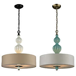 Lilliana 3-Light Pendant with Adaptor Kit