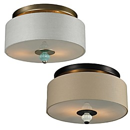 Lilliana 2-Light Semi-Flush Mount