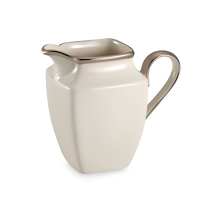 Alternate image 1 for Lenox® Solitaire® Square Creamer