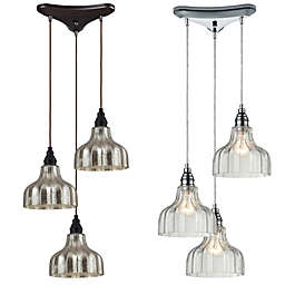 Danica 3-Light Pendant Light
