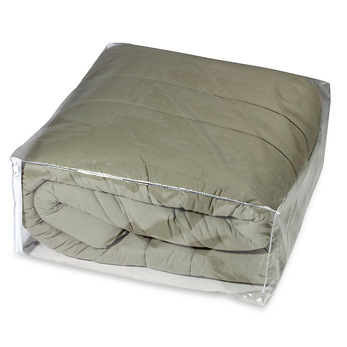 Alternate image 1 for Crystal Clear Vinyl Comforter Bag Protector
