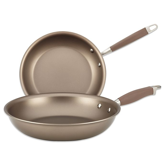 Alternate image 1 for Anolon® Advanced Umber Twin Pack French Skillets