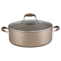 Anolon® Advanced Umber 7.5 qt. Covered Wide Stock Pot