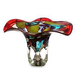 Dale Tiffany Multi-Color Art Glass Bowl