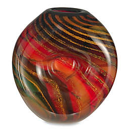 Dale Tiffany Striped Heart Urn Vase