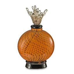 Art Glass 12.25-Inch Pumpkin Pie Perfume Bottle