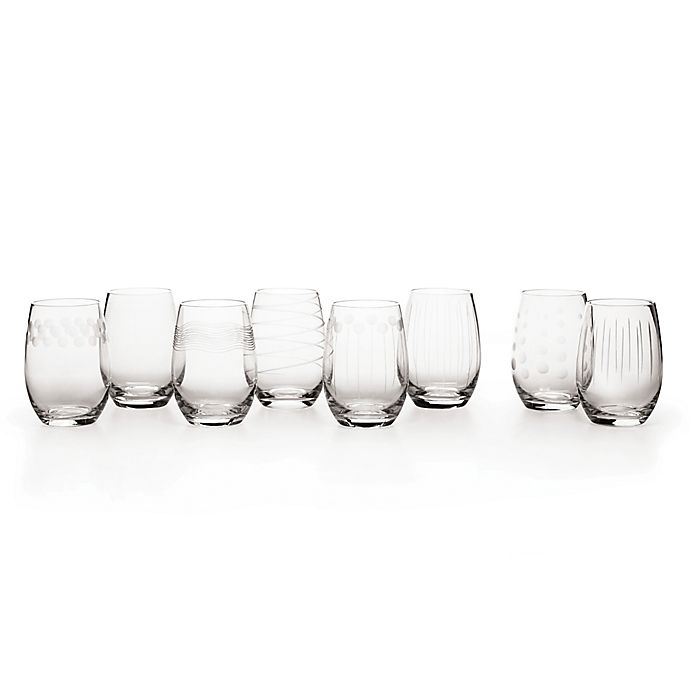 Alternate image 1 for Mikasa® Cheers 16.5 oz. Stemless Wine Glasses (Set of 8)