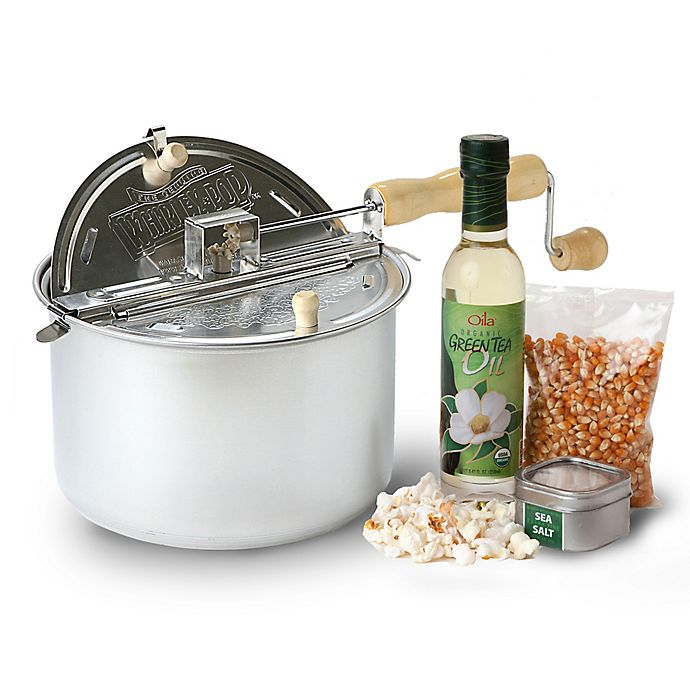 Alternate image 1 for Wabash Valley Farms™ All Natural Popcorn Popper Set