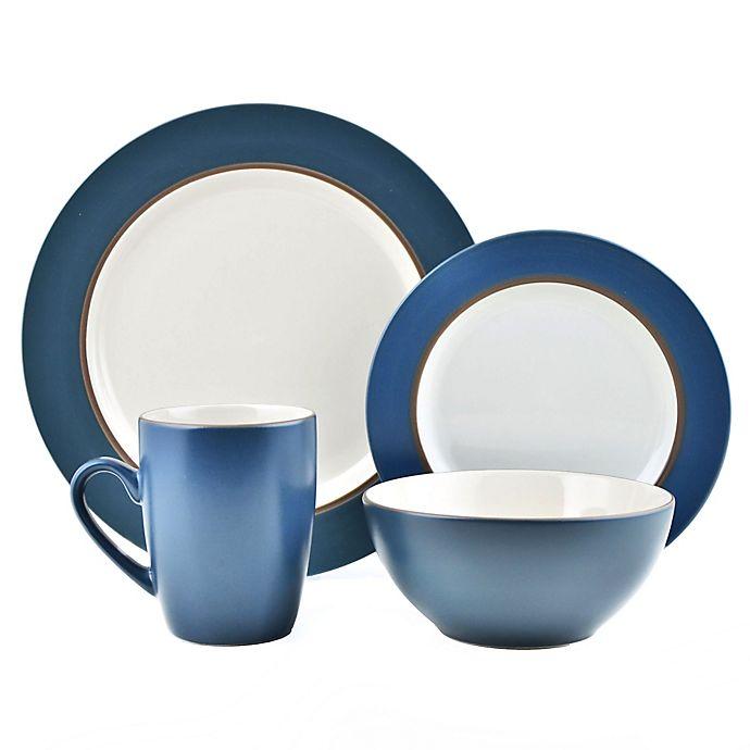 Thomson Pottery 16 Piece Kensington Stoneware Dinner Set Bed Bath
